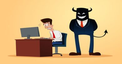 Consecuencia positiva de un jefe abusivo