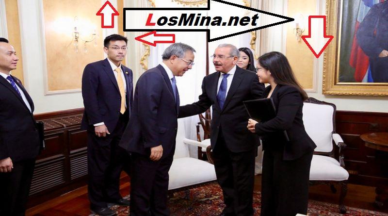 Vice Primer Ministro Chino Visita al Gobierno Dominicano en el palacio Nacional
