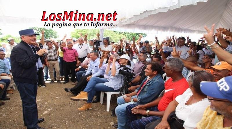 Montecristi: Danilo y la obra de Juan Bosch en favor de parceleros continua.
