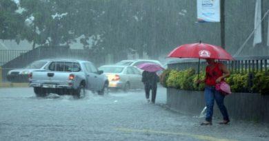 ONAMET pronostica lluvias para este jueves por sistema frontal y vaguada