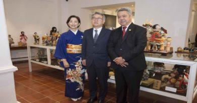 Centro Cultural Banreservas exhibe muñecas ancestrales del Japón