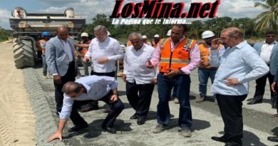 Presidente Medina supervisa avances Circunvalación unirá regiones Sur, Norte, Este y Nordeste