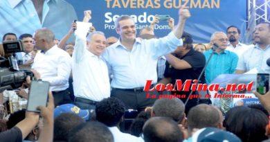 Taveras Guzmán es presentado como candidato a senador por Luis Abinader en la provincia Santo Domingo
