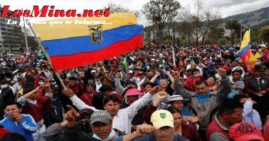 Gobierno de Ecuador levanta el estado de excepción y el toque de queda en Quito