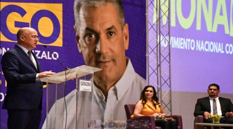Domínguez Brito pondera cualidades de Gonzalo Castillo para ocupar la presidencia de la Republica