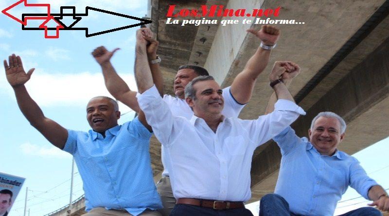 Abinader proclama a Francisco Fernández y El Gringo candidatos a alcalde de SDN y La Victoria; Afirman PRM avanza hacia victoria.