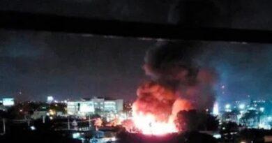 Sistema 911 informa sofoca incendio en  Av. San Vicente de Paul en SDE