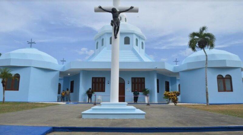 Alcaldía SDE entrega remozada capilla Cristo Salvador, abandonada por dos años