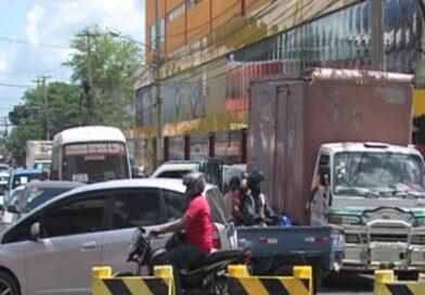 Entaponamientos en SDE durante horas tras peatonalizar avenidas