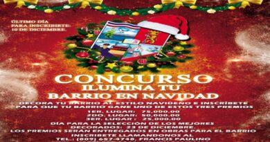 Junta Municipal San Luis lanza concurso ¨Ilumina Tu Barrio en Navidad