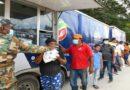 Cocinas móviles de los Comedores Económicos del Estado se instalan en Hato Mayor y Azua; entregan comida gratis a más de 40 mil personas