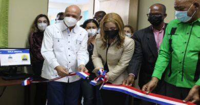 CTC y Acopro firman convenio beneficia Sabana Perdida; inauguran sala digital