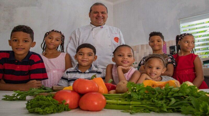 World Vision y el chef Leandro Díaz realizan Master Class en favor de la atención de niños en zonas vulnerables